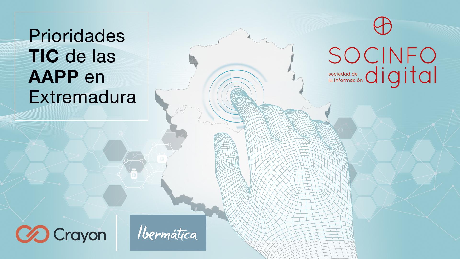 Prioridades TIC de las AAPP en Extremadura
