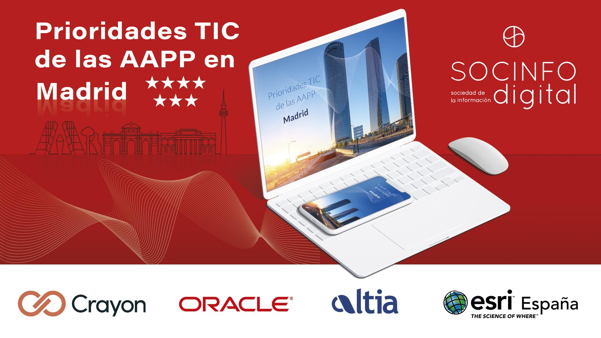 Prioridades TIC de las AAPP en Madrid
