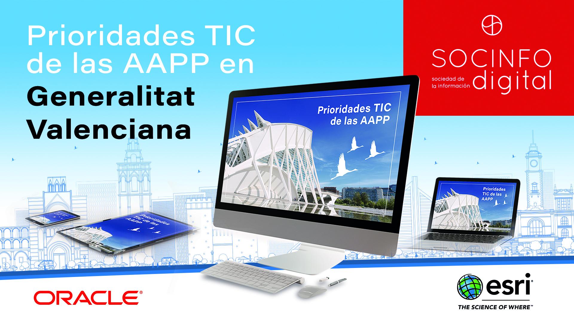 Prioridades TIC de las AAPP en la Generalitat Valenciana