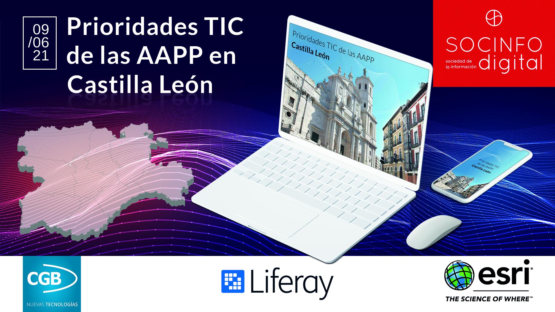 Prioridades TIC de las AAPP en Castilla y León