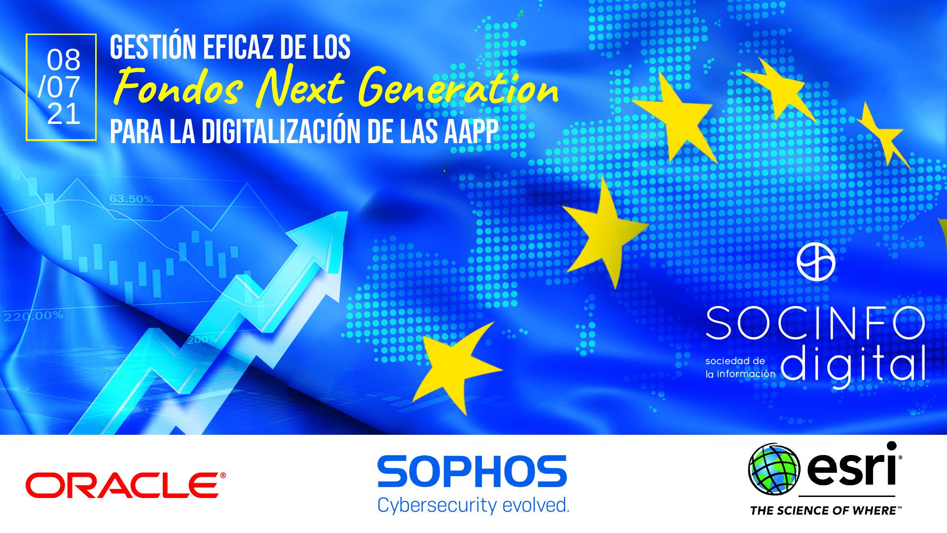 Gestión eficaz de los Fondos Next Generation para la Digitalización de las AAPP